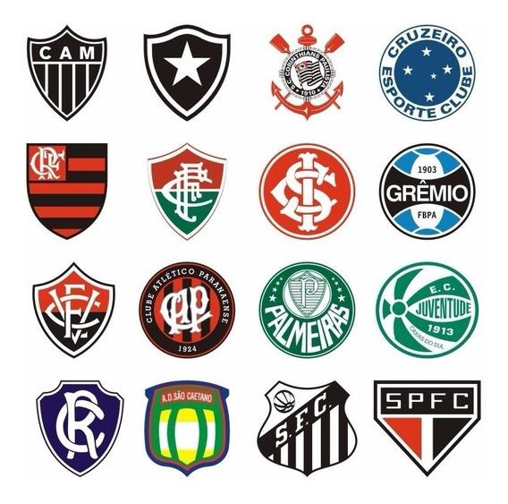 1513 Adesivo De Times De Todo Brasil