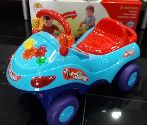 Carro Montable Y Caminadora 3 En 1 Con Sonidos Y Luces