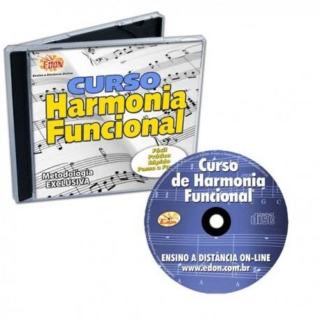 Harmonia Funcional Volume 1 Cd-rom Edon Promoção