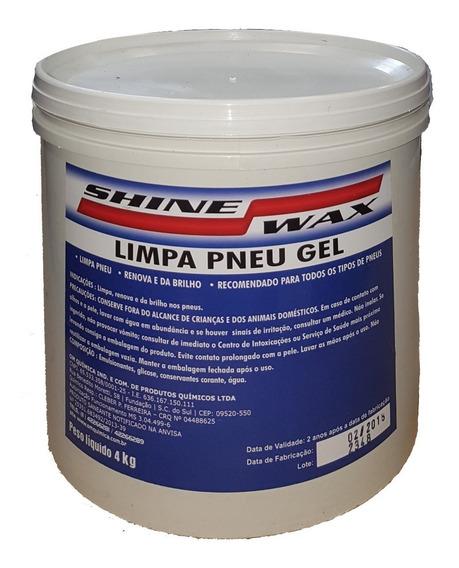 Limpa Pneu Gel Pretinho + Revitalizador De Parachoque