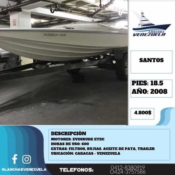 Lancha Santos 18.5 Lv284