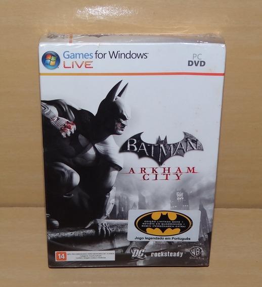 Batman - Arkham City - Edição Limitada - Lacrado - Pc