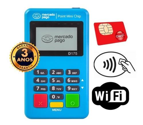 Imagem 1 de 7 de Point Mini Chip Wi-fi Mercado Pago Cartão Aproximação Nfc