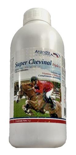 Super Chevinal Triple A 1l Vitaminas Y Min. Caballo Aranda