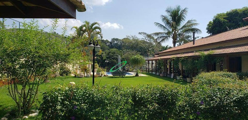 Chácara Com 3 Dormitórios À Venda, 2000 M² Por R$ 1.980.000,00 - Itaoca - Guararema/sp - Ch0035