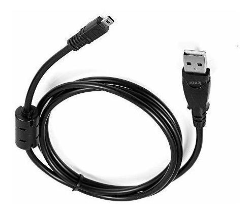 Cable USB para Sony CyberShot dsc-w550 cable de datos Data cable 1m