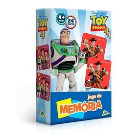Jogo De Memoria Toy Story 4 Toyster Novo