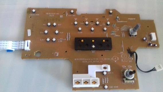 Placa Frontal De Comandos E Volume Som Philips Fw912 /589
