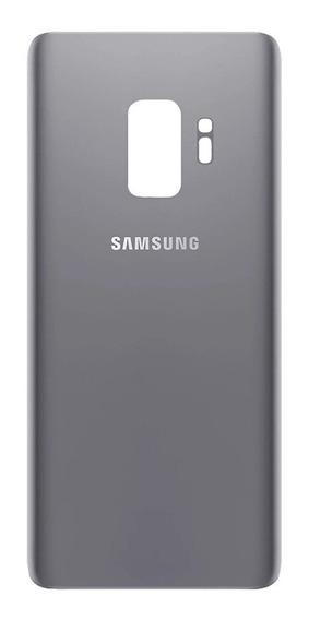 Tapa Acrilico Trasero Samsung S9 Gris Gray