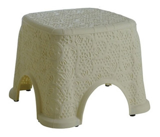 Banquito Banqueta Silla Plastica Baja Diseño Hogar Casa Baño