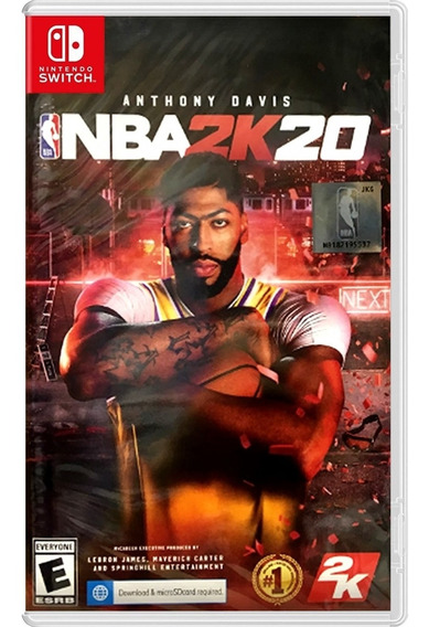 Nba 2k20 Switch Mídia Física Novo Lacrado Original