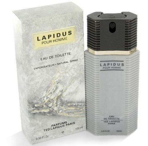 Perfume Ted Lapidus Pour Homme 100ml - 100% Original Edt