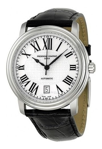 Relógio Frederique Constant Persuasion Automático Prata/pret