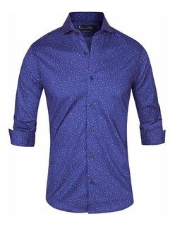 Camisa Blunner Elastizada Entallada - Quality Import Usa