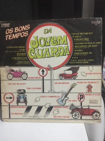 Lp Os Bons Tempos Da Jovem Guarda - 1983 - Raridade