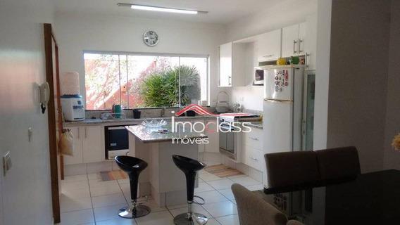 Casa Residencial À Venda, Residencial Boa Vista, Americana. - Ca0866
