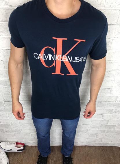 Camiseta Masculina Calvin Klein Promoçao Queima De Estoque