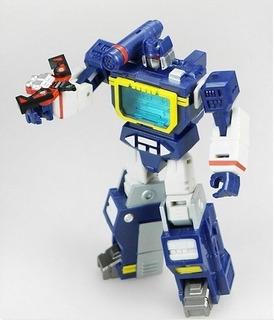 Transformers Mech Planet Hot Soldier Soundwave
