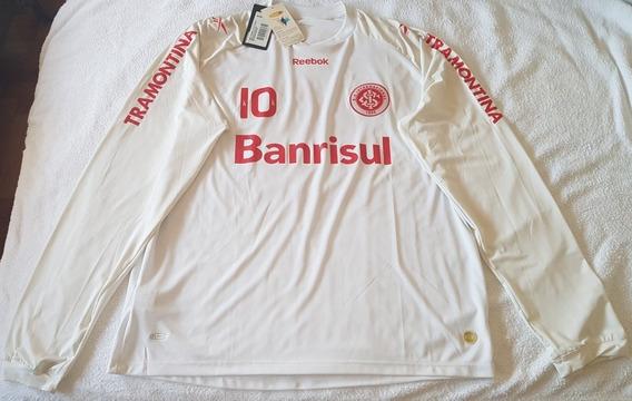 Camiseta Inter Porto Alegre, Suplente, Número 10, Talle L