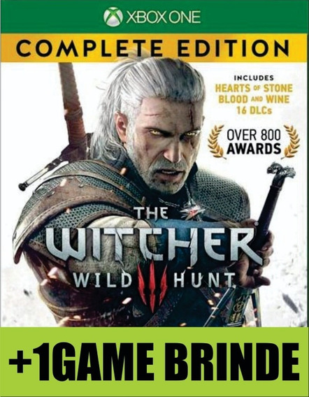 The Witcher 3 Wild Hunt Complete Edition Xbox One Mídia + 1g