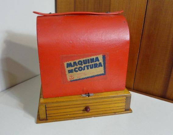 Antiga Brinquedo Estrela Mini Máquina Costura Bambi Nº 697