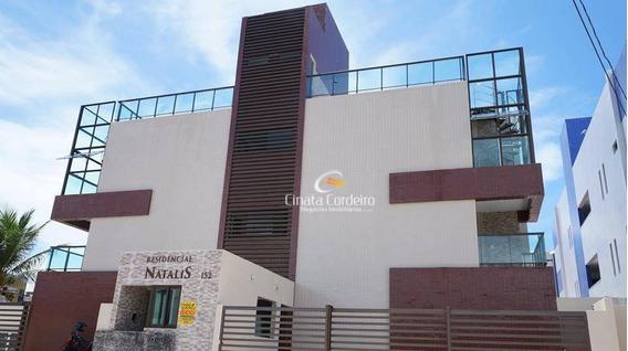 Cobertura Com 2 Dormitórios À Venda, 61 M² Por R$ 370.000,00 - Bessa - João Pessoa/pb - Co0017