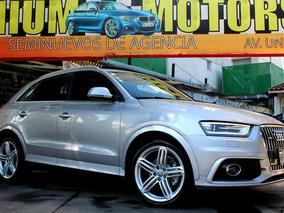 Audi //q3 S Line Plus 211hp// 2015 Seminueva!! Piel Qc Gps!!