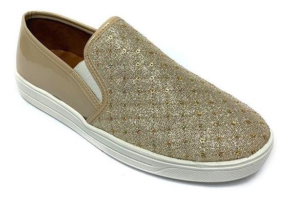 Zapatos Sneakers Fanny Stile Dama Negro Fs 0812 Corpez 32