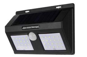 Luminária Balizador Arandela Solar Parede 40 Led 12w