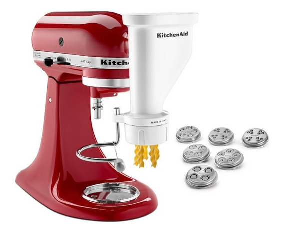 Set Pasta Press Para Stand Mixer