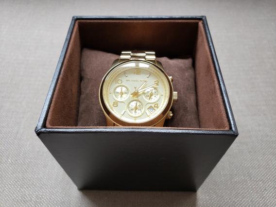Relógio Michael Kors Dourado Mk-5055