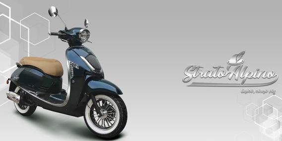Scooter Motomel Strato Alpino 150cc Ant + 18 Ctas De $ 4550