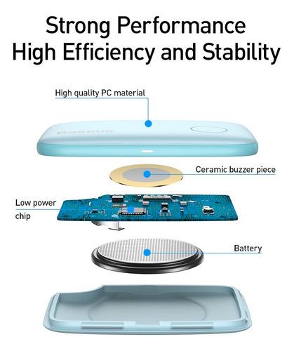 Baseus -  Rastreador Inteligente Mini Gps Con Bluetooth