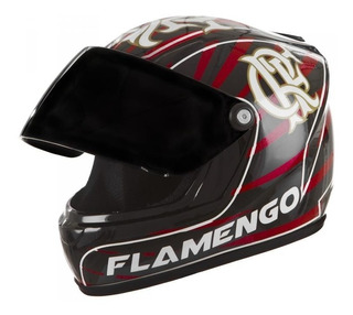 Mini Capacete Decorativo Do Flamengo Oficial Marca: Pro Tork