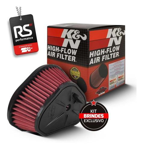 Filtro De Ar Esportivo Inbox K&n Kawasaki Klx450r / Klx 450r