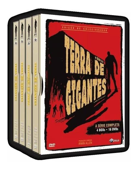 Box Dvd: Terra De Gigantes Completo (16 Dvd