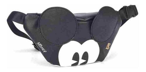 Imagem 1 de 4 de Pochete By Mickey Mouse Face Black