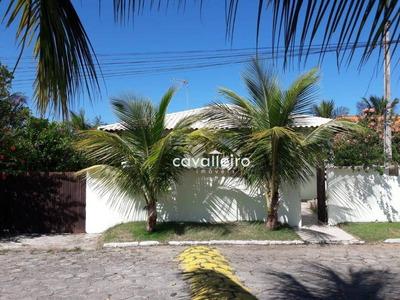 Casa Em Condomínio Fechado, Próximo Ao Centro E Ao Lado Do Futuro Shopping Plaza Maricá! - Ca3308