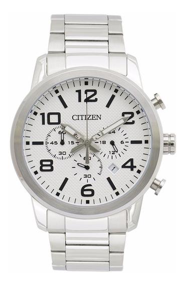 Reloj Citizen Hombre An805051a Acero Inoxidable Plateado