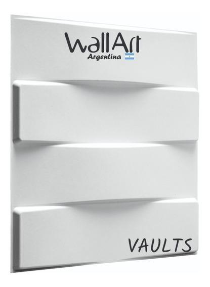 3m2 Placa 3d Decor. 50x50 Vaults Envio Gratis Sin Interes