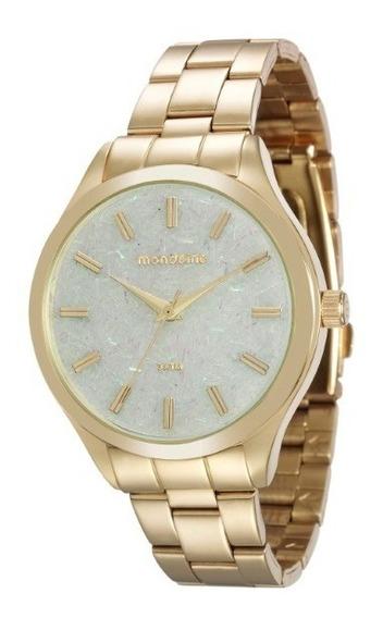 Relógio Mondaine Feminino Dourado - 34641
