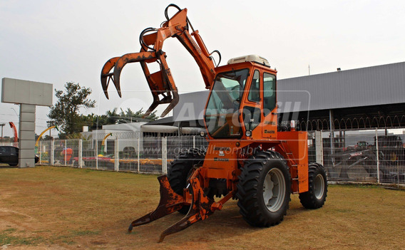 Trator Carregadeira Massey 290 4×4 Ano 2010 Advanced