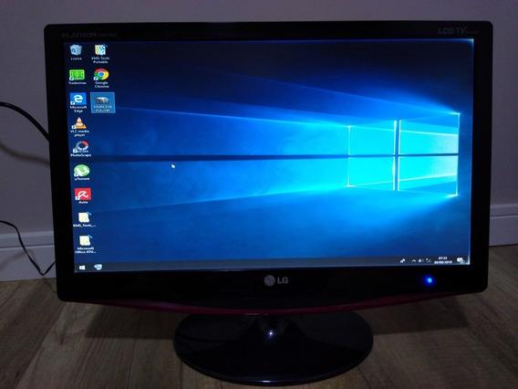 Tv Monitor 21,5 Lg Flatron M227wap Full Hd
