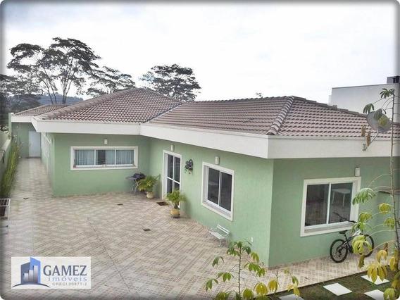 Casa Residencial À Venda, Condomínio Fechado, Atibaia. - Ca0588