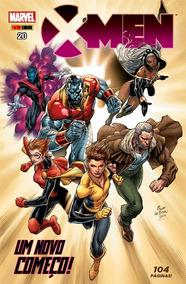 Nova Hq X Men Um Novo Começo 20 Marvel Panini Comics 108 Pag