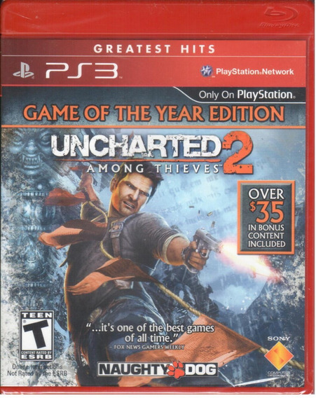 Uncharted 2 Ps3 Game Of The Year Ed. Original