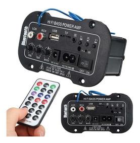 Kit 2 Placa Amplificada Decodificador Mp3/ 50w Usb Bluetooth