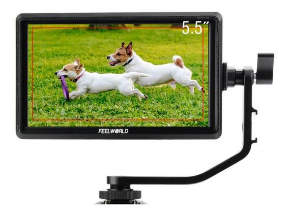 Monitor Feelworld S55 4k Videoassist P/ Dslr Sony Canon