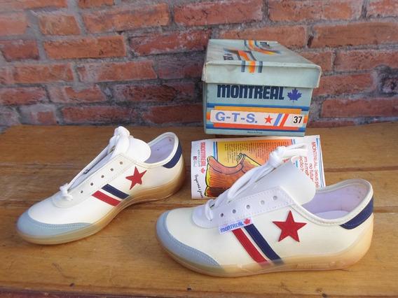 Antigo Tenis Montreal G T S Original Anos 80 Novo Retro