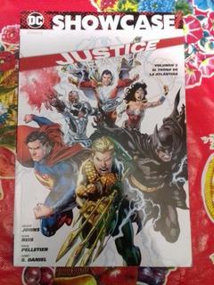 Justice League El Trono De La Atlantida Editorial Televisa.